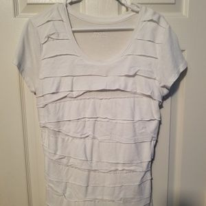 Dressy layered t-shirt for casual or business casu